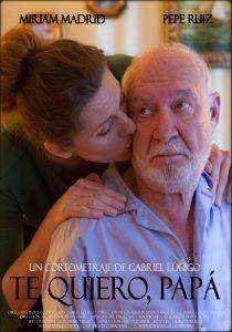 Te quiero papa cortometraje cartel poster
