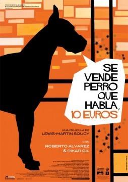 Se vende perro que habla, 10 euros cortometraje cartel poster