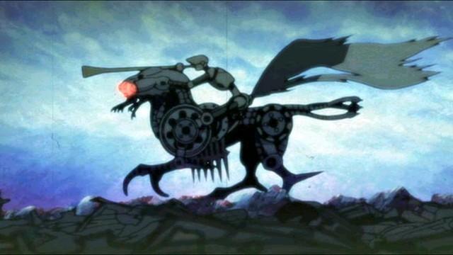 Animatrix: El segundo renacimiento – Parte 2. Cortometraje de animación