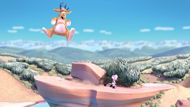 Saltando. Cortometraje de animación de Pixar dirigido por Bud Luckey
