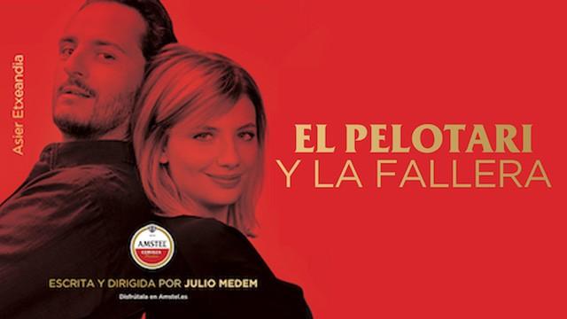 El pelotari y la fallera. Cortometraje español con Asier Etxeandía