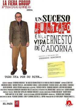 Un suceso neurasténico en la vida de Ernesto Cadorna cortometraje cartel poster