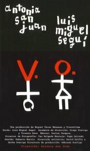 V.O. cortometraje cartel poster
