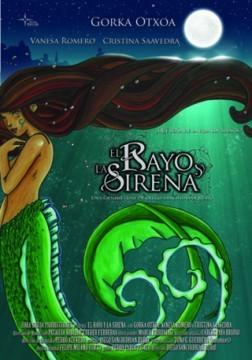 El rayo y la sirena cortometraje cartel poster