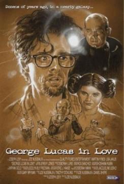 George Lucas enamorado cortometraje cartel poster