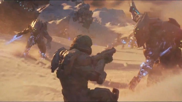 Halo 5 Guardians Intro Game Cinematic. Videojuego de la saga Halo