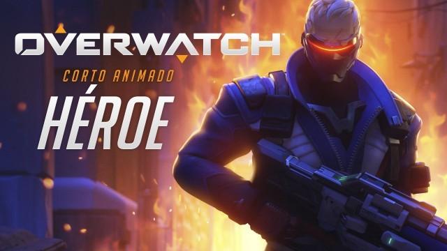 Overwatch: Héroe. Cortometraje de animación del videojuego de Blizzard