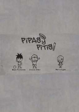 Pipas y Pitis cortometraje cartel poster
