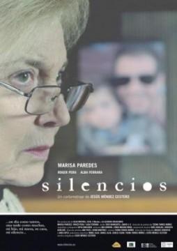Silencios cortometraje cartel poster