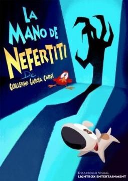 Tadeo Jones La mano de Nefertiti cortometraje cartel poster