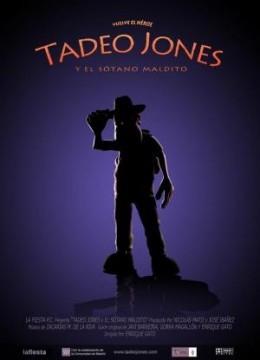 Tadeo Jones y el sótano maldito cortometraje cartel poster