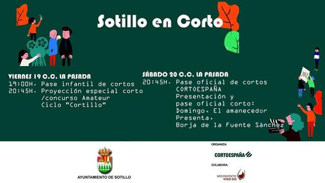 II Edición Sotillo en Corto Organizado por el Ayto de Sotillo de la Adrada