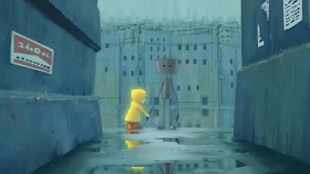 Raintown. Anime cortometraje de animación japonés de Hiroyasu Ishida