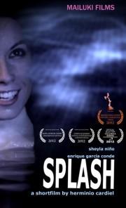 Splash cortometraje cartel poster