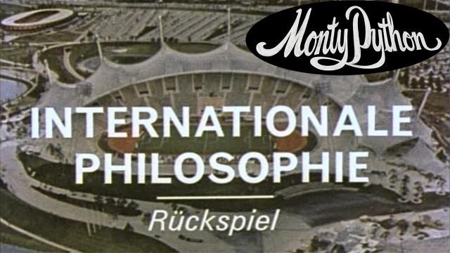 Monty Python: International Philosophy. Cortometraje de Monty Python
