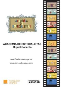 Academia de especialistas corto cartel poster