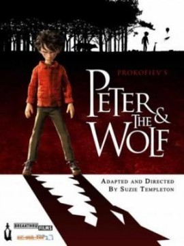 Peter & the wolf cortometraje cartel poster