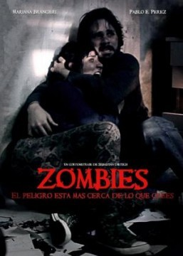 Zombies. Cortometraje cartel poster