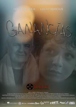 Ganancias cortometraje cartel poster