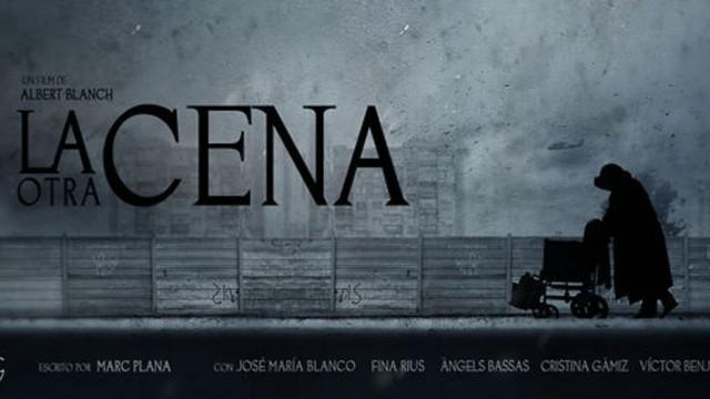 La otra cena. Cortometraje español y thriller de Albert Blanch