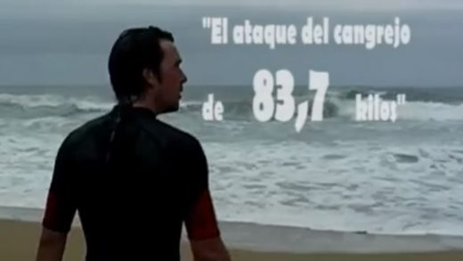 El ataque del cangrejo de 83,7kg. Cortometraje de 3 on the run