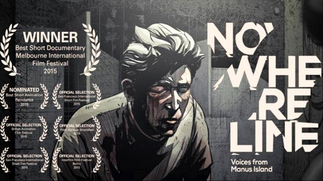 Nowhere Line - Voices from Manus Island. Cortometraje de animación
