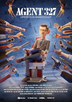 Agent 327: Operation Barbershop cortometraje cartel poster>
