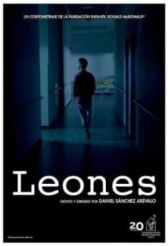 Leones cortometraje cartel poster