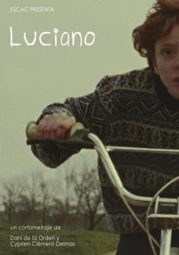Luciano. Cortometraje cartel poster