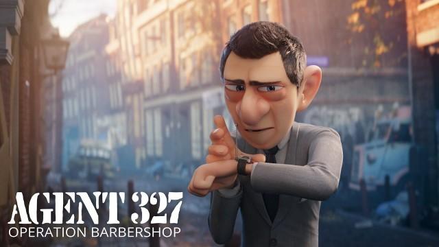 Agent 327: Operation Barbershop. Cortometraje de animación Blender