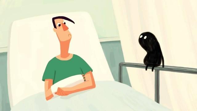 Fears (Miedos). Cortometraje de animación dirigido por Nata Metlukh
