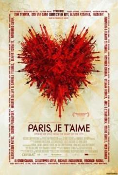 Faubourg Saint-Denis cortometraje Paris, je t' aime cartel poster