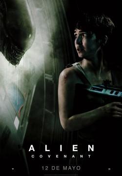 Alien Covenant Prologo the crossing cortometraje cartel poster