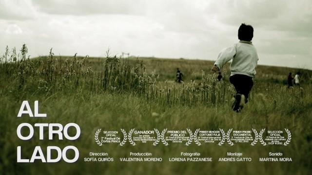 Al otro lado. Cortometraje argentino documental dirigido por Sofía Quirós