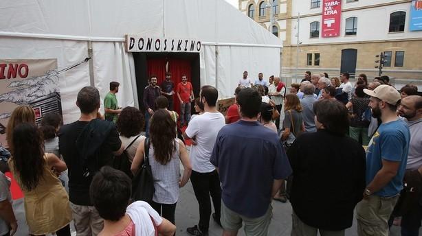 Comienza el festival de cortos Donosskino en Guipúzcoa