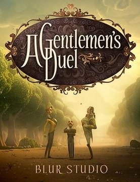 A Gentlemen's duel cortometraje cartel poster