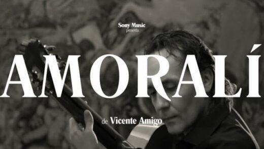 Amoralí (Videoclip Oficial) - Vicente Amigo. Vídeo musical