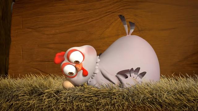 EggsChange. Cortometraje de animación dirigido por Hee Won Ahn