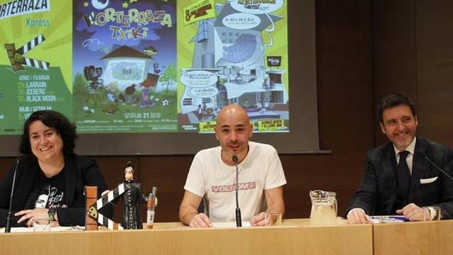 Korterraza proyectará en Vitoria 34 cortometrajes