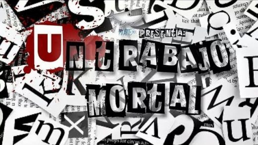 Un trabajo mortal. Cortometraje español de Adrián Vereda y Juan Crossa