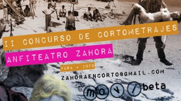 Abierto el plazo de inscripción para el II Concurso de Cortometrajes Zahora en Corto