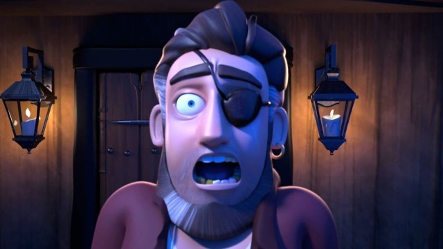 Pirate Parts. Cortometraje de animación de piratas fantasmas