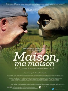 Maison, ma maison cortometraje cartel poster