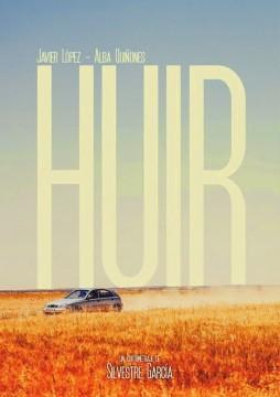 Huir cortometraje cartel poster