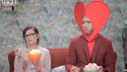 Fashion Drama de San Valentín, Miriam Giovanelli y Pablo Rivero, de Inés de León