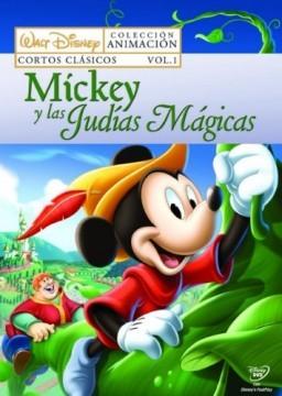 Mickey y las judias magicas cortometraje cartel poster