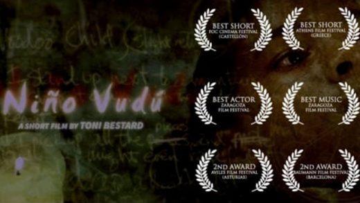 Niño vudú. Cortometraje español y drama de Toni Bestard con Fernando Tielve