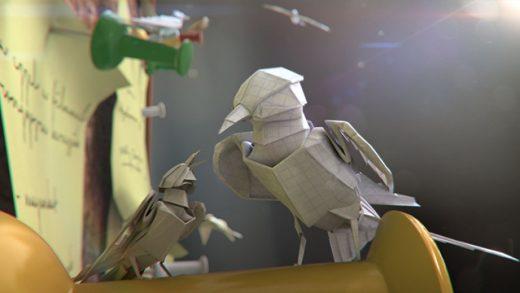 Paper World. Cortometraje de animación producido por WWF Hungría