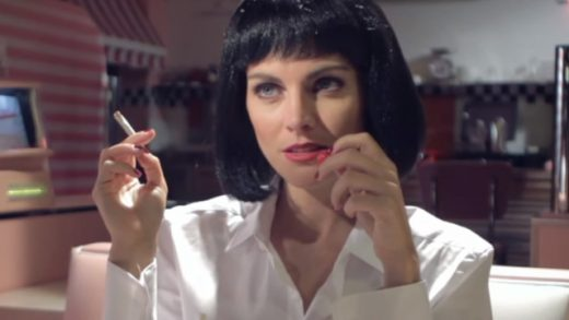 Uncomfortable silences. Cortometraje de Inés de León sobre Pulp Fiction
