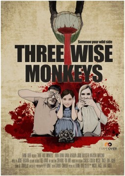 Three Wise Monkeys cortometraje cartel poster